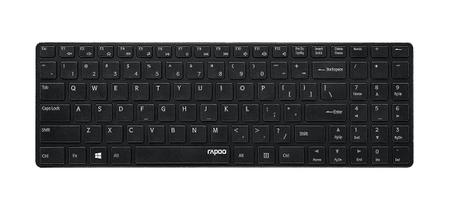 """Rapoo tipkovnica E9110, 2,4GHz, """"Ultra-slim"""", črna"""
