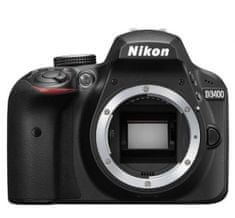 Nikon digitalni DSLR fotoaparat D3400 (Body)