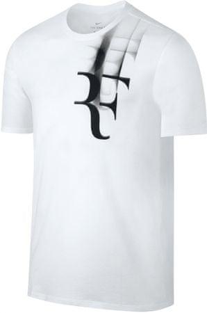 Nike koszulka tenisowa RF M NKCT TEE White XXL