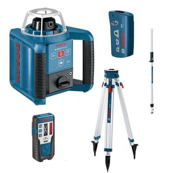 BOSCH Professional GRL 250 HV + RC1 + GR 240, BT 170 HD + LR1