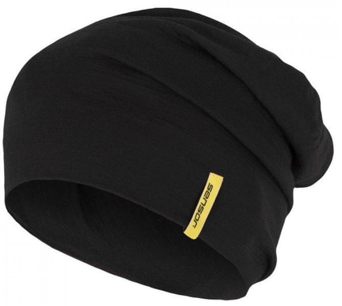 Sensor Čepice Merino Wool černá M