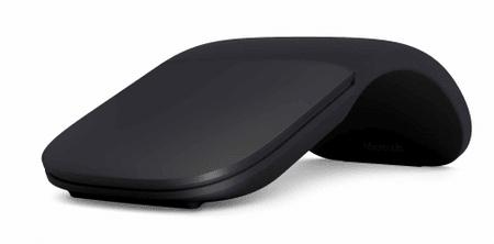 Microsoft Egér Surface Arc Mouse, fekete (ELG-00008)