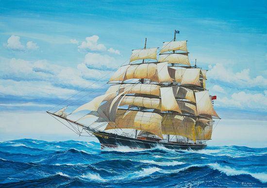 REVELL ModelKit hajó 05422 - Cutty Sark (1:96)