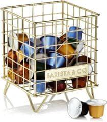 BARISTA&CO zásobník na kávové kapsule Electric Gold