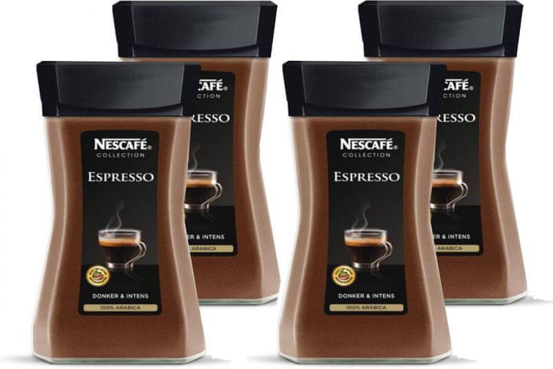 NESCAFÉ Espresso instantní káva 4x100g