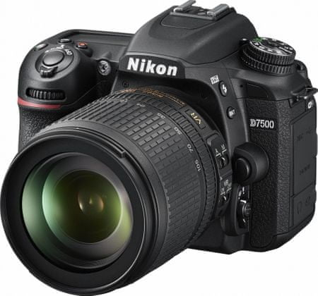 Nikon fotoaparat D7500 + 18-105 VR