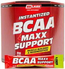 XXlabs BCAA Maxx Support 620g (60 sáčků) Limetka