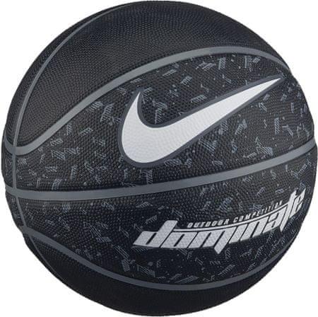 Nike košarkaška žoga Dominate, velikost 7, črna