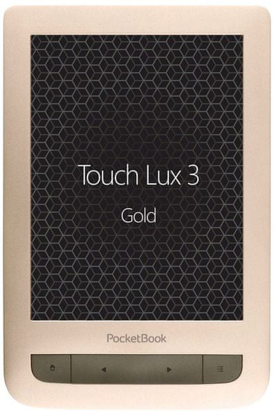 PocketBook 626 Touch Lux 3, Zlatý (PB626(2)-G-WW)