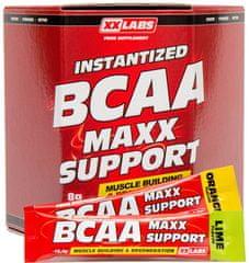 XXlabs BCAA Maxx Support 620g (60 sáčků) Pomeranč-Limetka