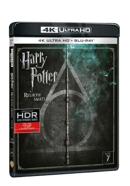 Harry Potter a Relikvie smrti - část 2. (2 disky) - Blu-ray + 4K ULTRA HD