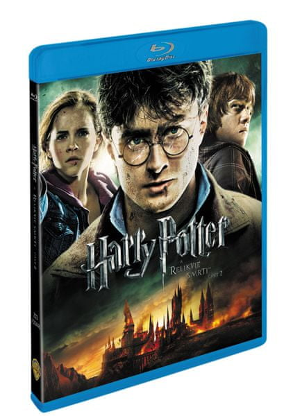 Harry Potter a Relikvie smrti - část 2. (2BD) - Blu-ray