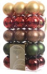 Kaemingk Božični okraski 30 kosov gala različni okraski