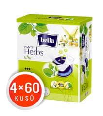 Bella Herbs Tilia dnevni vložki, 4 x 60 kosov