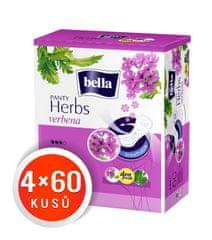 Bella Herbs Verbena dnevni vložki, 4 x 60 kosov
