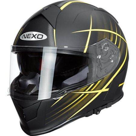 Nexo čelada Sport, rumena, XS