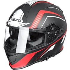 Nexo čelada Sport Dekor, rdeča
