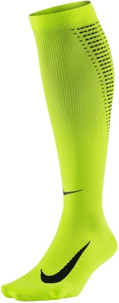 Nike Elite Compression Over-The-Calf Running Sock Green 42-44