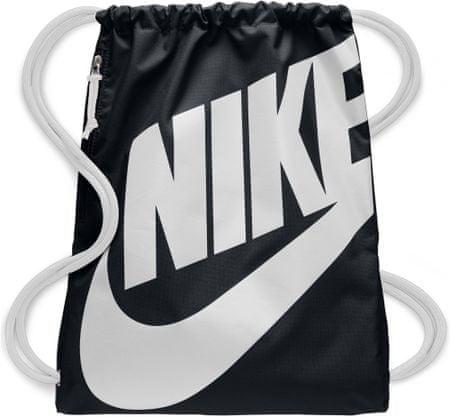 Nike športna vrečka Heritage GMSK, črna