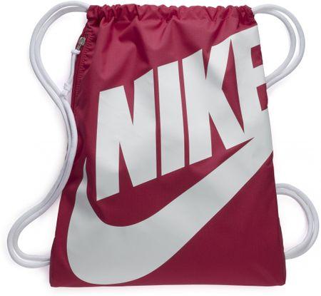 Nike športna vrečka Heritage GMSK, temno roza