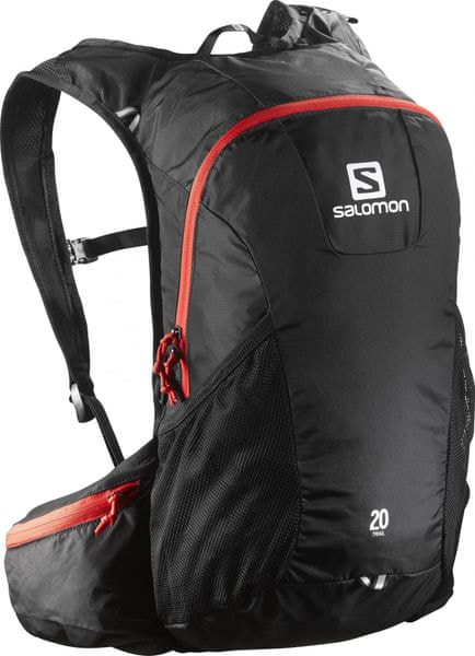 Salomon Trail 20 Black/Bright Red