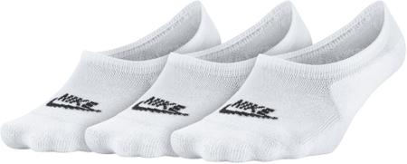 Nike nizke nogavice NSW Footie, bele, 3 pari, S