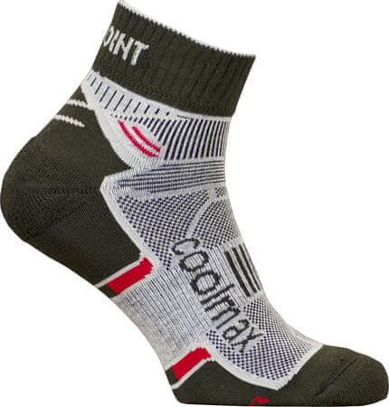 High Point Active 2.0 Socks fekete / piros 35-38
