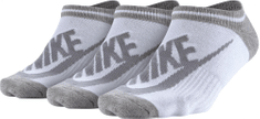 Nike Sportswear Striped No-Show Socks (3 Pairs)