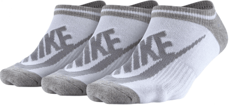 Nike nogavice Sportswear Striped No-Show Socks, 3 pari, S