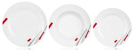 Banquet GEOMETRIC 18 db-os tányérkészlet