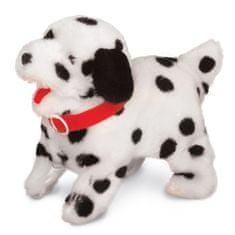 Mac Toys Pejsek akrobat - bílo/černý