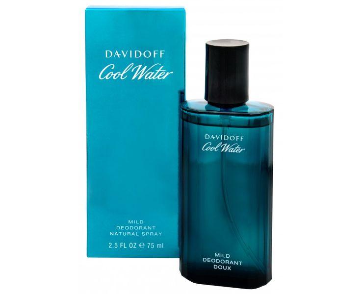 Davidoff Cool Water Man - deodorant ve spreji 75 ml