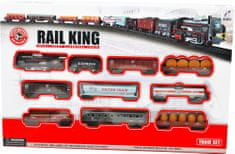 Mac Toys duża kolejka elektryczna - Rail King