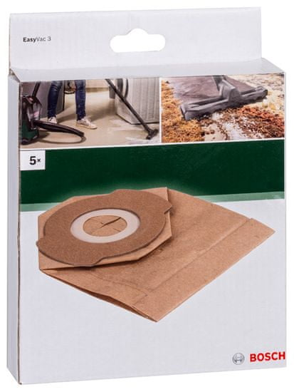 Bosch Papirnata vrečka za prah za Vac3, 5 kosov