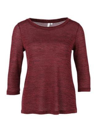 s.Oliver dámské tričko XS vínová