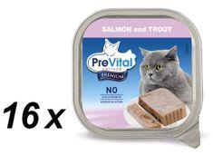 PreVital Premium eledel lazaccal és pisztránggal 16 x 100 g