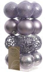 Kaemingk božični okraski različne vrste 16 kosov vijolična