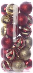Kaemingk Božični okraski različni 30 kosov, zlata