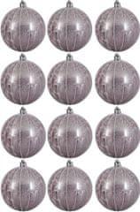 Kaemingk dekorativen okrasek vijoličen 12 kosov