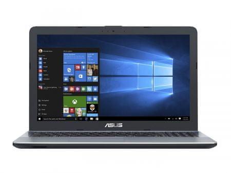 Asus prenosnik VivoBook X541UV-DM1248T i7-7500U/8GB/SSD 256GB/15,6FHD/920MX/Win10 (90NB0CG3-M18230)