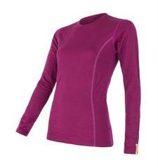 Sensor koszulka termoaktywna z długim rękawem Merino Wool Active W