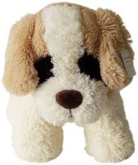 Mac Toys Pejsek s hnědýma ušima 30 cm