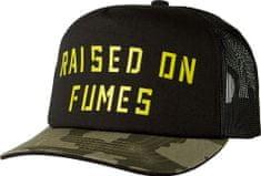 FOX moška kapa črna Raised on Fumes