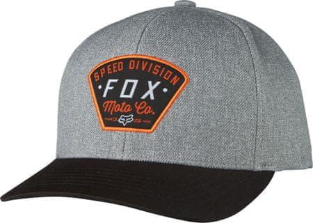 FOX pánská šedá snapback kšiltovka Seek and construct