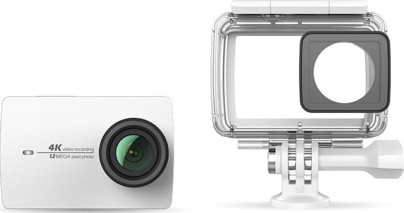 Yi 4K Action Camera 2 Waterproof Kit White