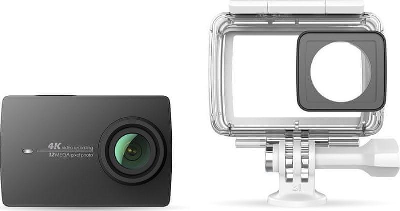 Yi 4K Action Camera 2 Waterproof Kit Black