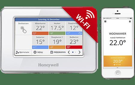 Honeywell EvoTouch-WiFi ATC928G3026, riadiaca jednotka bez napájania, biela, CZ lokalizácia