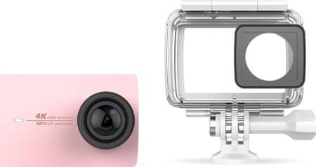 Yi 4K Action Camera 2 Waterproof Kit Rose Gold
