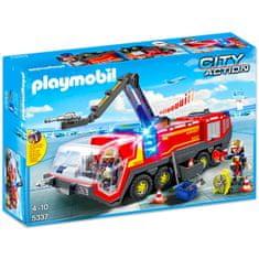 Playmobil letališki gasilksi tovornjak z lučmi in zvokom 5337