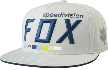 FOX pánská snapback kšiltovka Draftr uni šedá